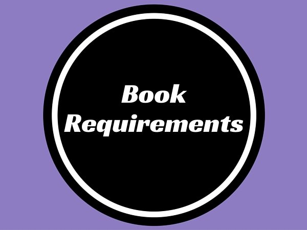Book Requirements