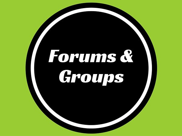 Forums & Groups