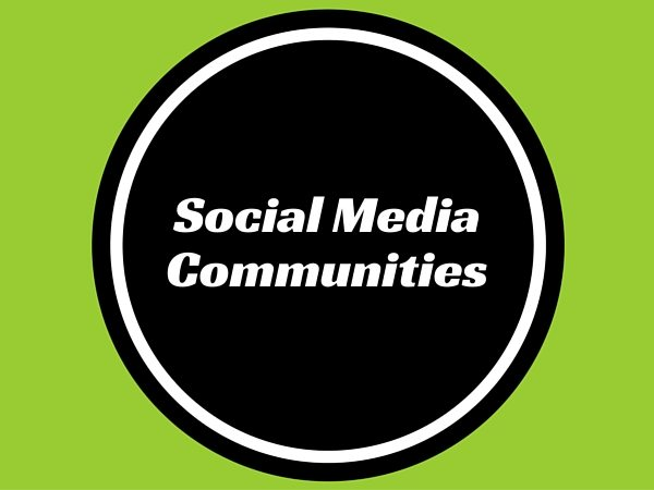 Social Media Communities
